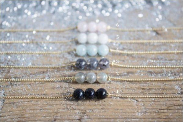 Pulseras Mineral Lisas / Bracelets