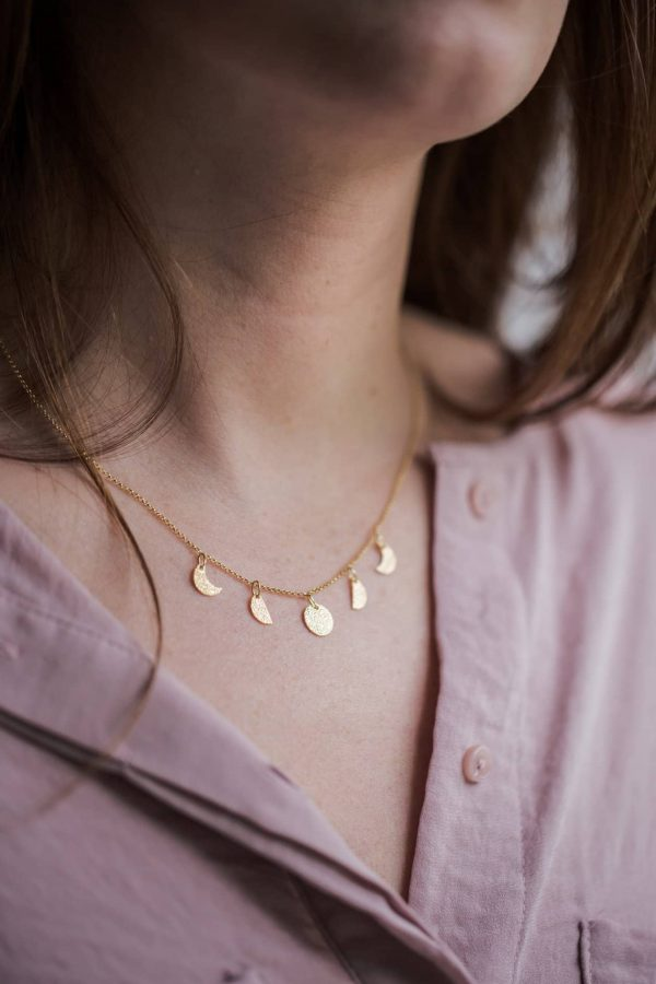 Fases Lunares Collar / Necklace