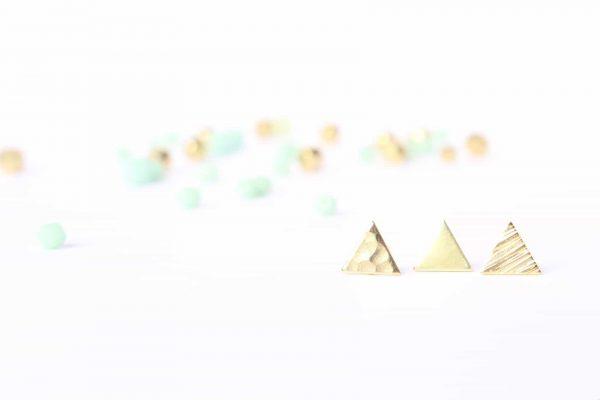 Pendientes triángulo Mountain de Fauna y Flora Handcrafted Jewelry