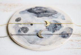 Pulseras luna Selene de Fauna y Flora Joyería inspirada en la Naturaleza