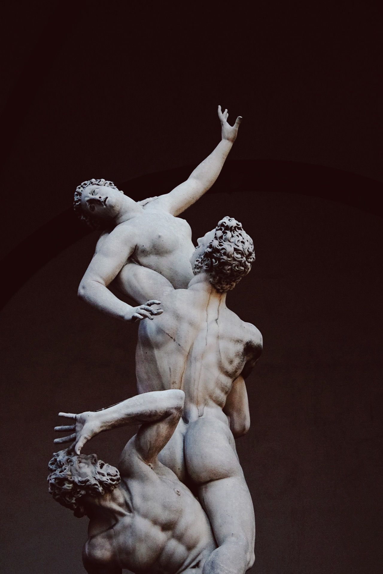 Arte escultórico en Florencia El rapto de las sabinas