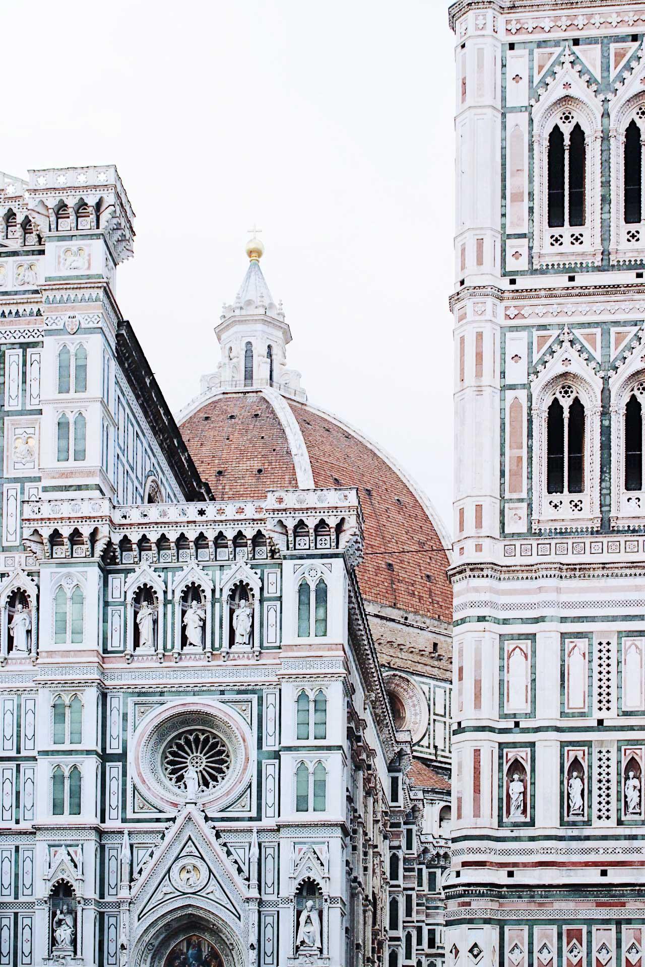 Arquitectura la cúpula del Duomo de Florencia