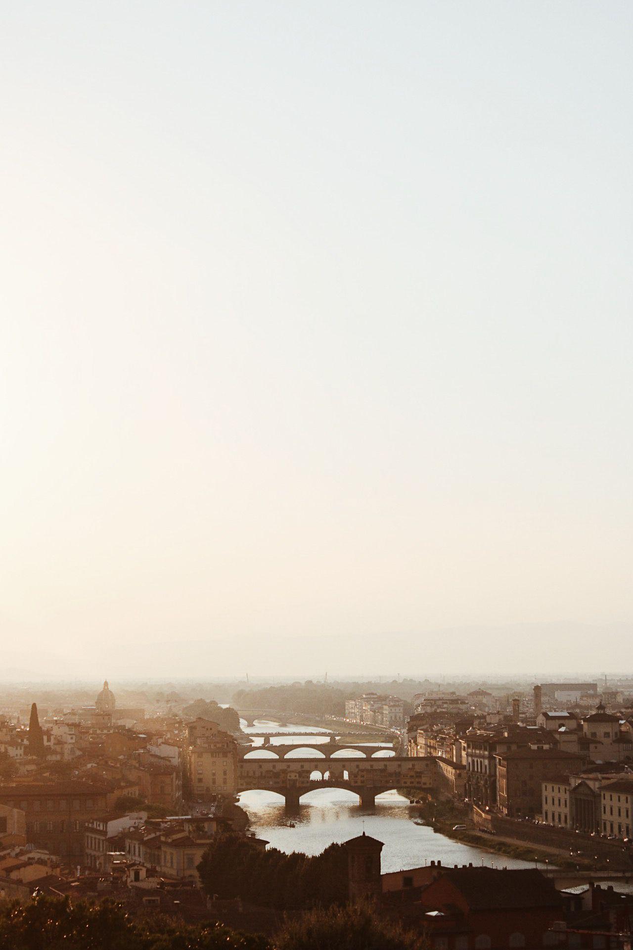 Atardecer en Florencia desde Piazzale Michelangelo