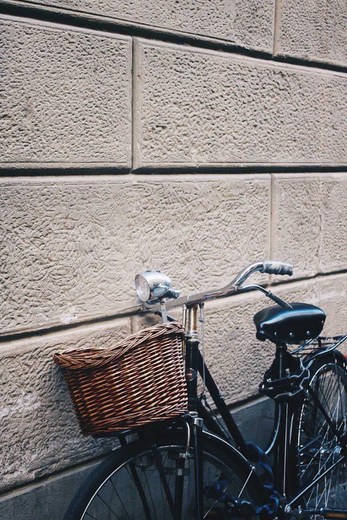 Bicicleta en Oltrarno