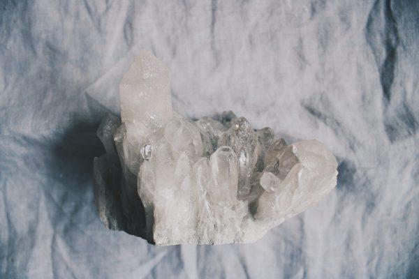 Drusa Cuarzo Selected Crystals Fauna y Flora