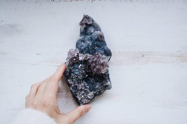 Amatista minerales Selected Crystals de Fauna y Flora