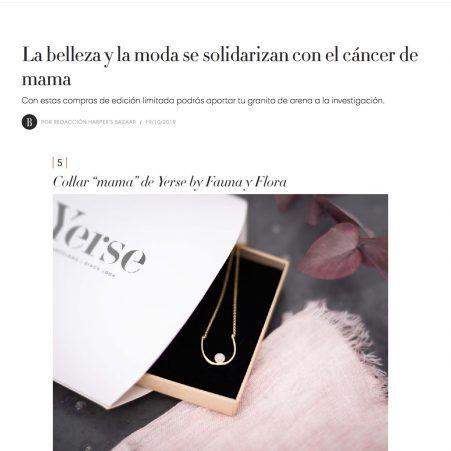 Collar Mama de Fauna y Flora para Yerse en Bazaar